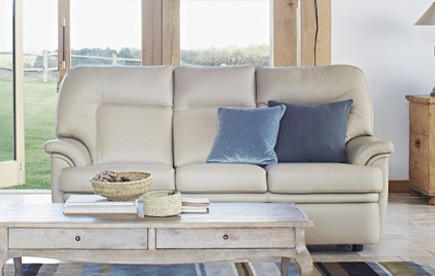 SHOP ALL PARKER KNOLL LEATHER SOFAS