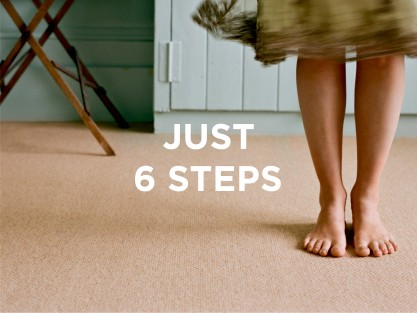 6 STEPSTO YOUR PERFECT FLOOR
