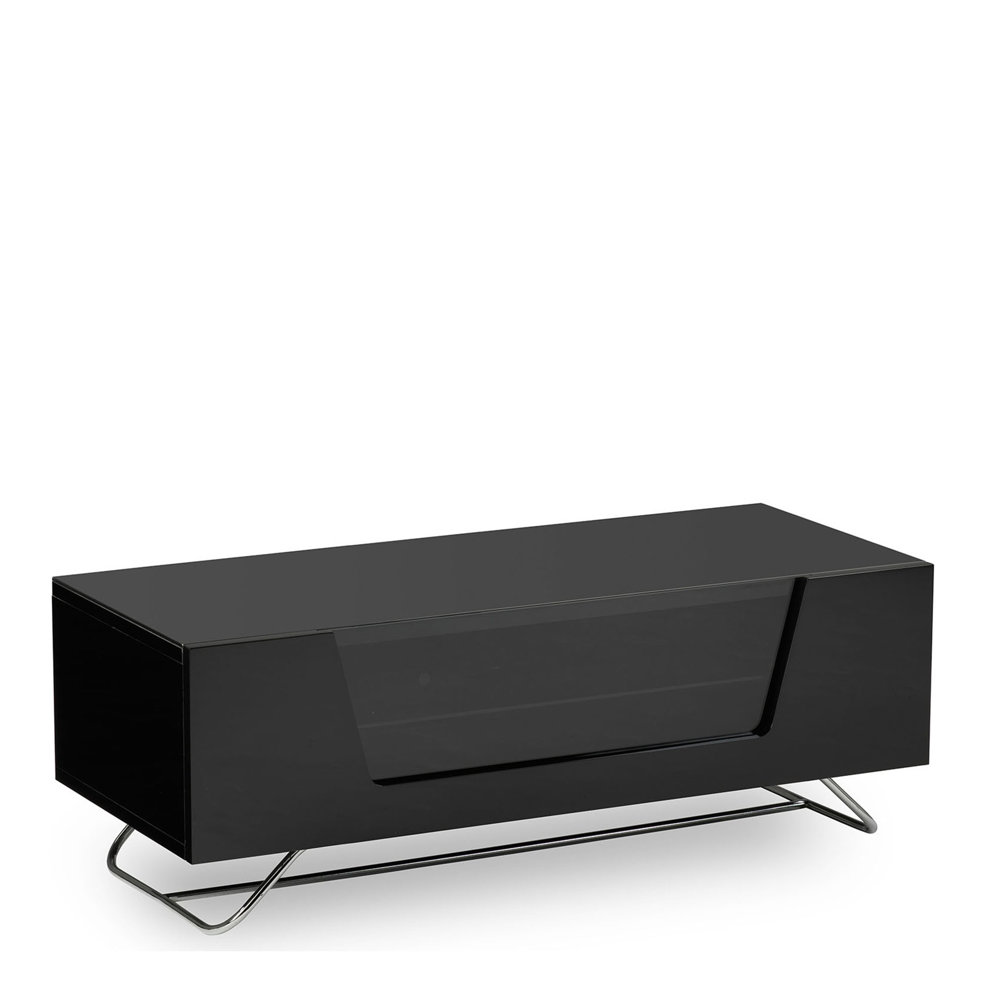 Omega Chromium Tv Unit Black High Gloss Tv Units