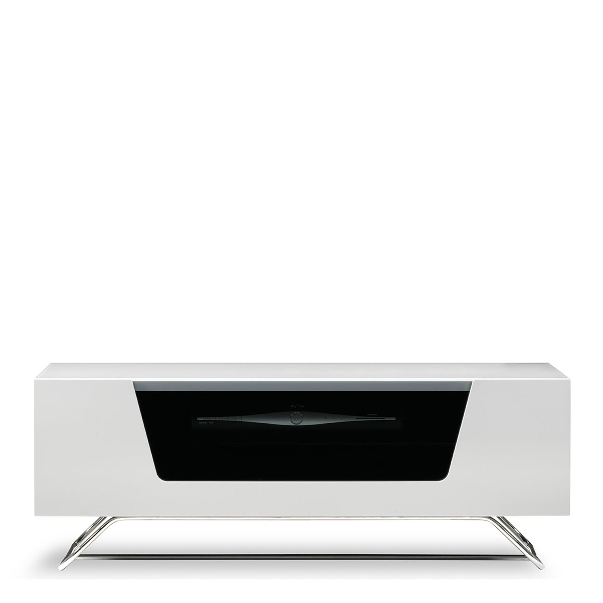 omega chromium tv unit white high gloss tv units. Black Bedroom Furniture Sets. Home Design Ideas