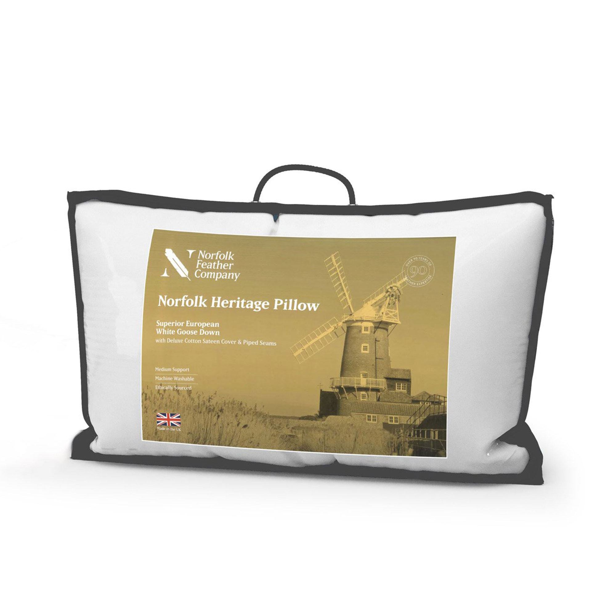 Goose Down Throw Pillows : Princess Goose Down Pillow - Pillows - Fishpools