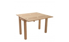 Royal Oak - Folding Dining Table Solid Oiled Oak Open