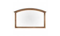 Fairmont - Wall Mirror, Reclaimed Timbers In Sundried Wheat Finish