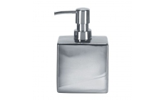 Decadence Soap Dispenser Silver