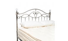 Satine - Headboard Black Shiny Finish