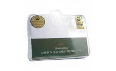 100% Cotton Mattress Protector Single