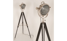 Screen Tripod Black Floor Lamp