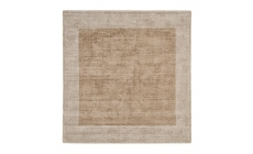 Blade Border Rug Putty Champagne