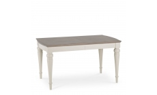 Chateau - Grey Washed Oak & Soft Grey 4-6 Extension Table