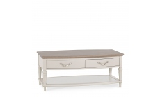 Chateau - Grey Washed Oak & Soft Grey Coffee Table