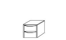 Viva - 43cm Internal 2 Drawer Unit