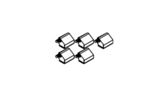 Viva - Set Of 5 Soft Closers For Hinged Door Robe