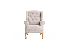 Somerset - Standard Chair Queen Anne In SADNV48 Multi Fabric