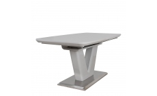 Pluto - 160-220cm Extending Dining Table Grey High Gloss