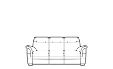 Parker Knoll Hudson Leather - 3 Seat Sofa