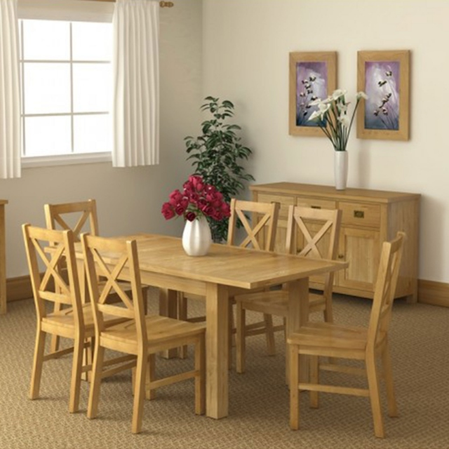 Triumph - Compact Extending Dining Table 4