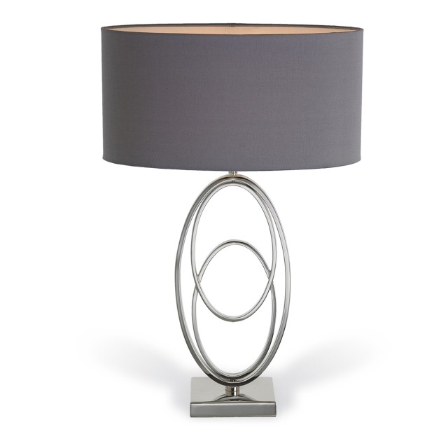 Abbey Nickel Table Lamp