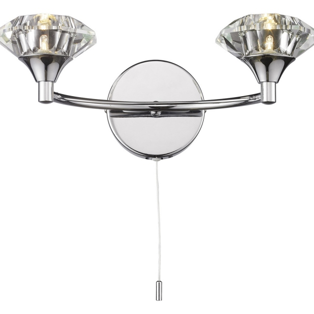 Luther Wall Light Polished Chrome
