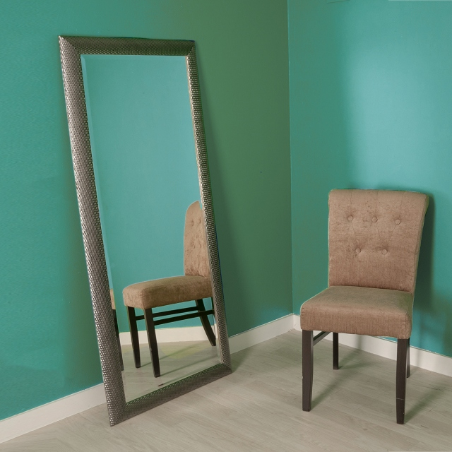 Mercury Mirror 168x76cm Grey