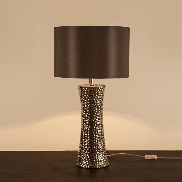 Bokara Table Lamp Silver
