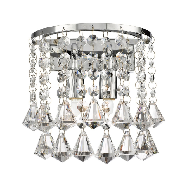 Grosvenor Crystal Wall Light