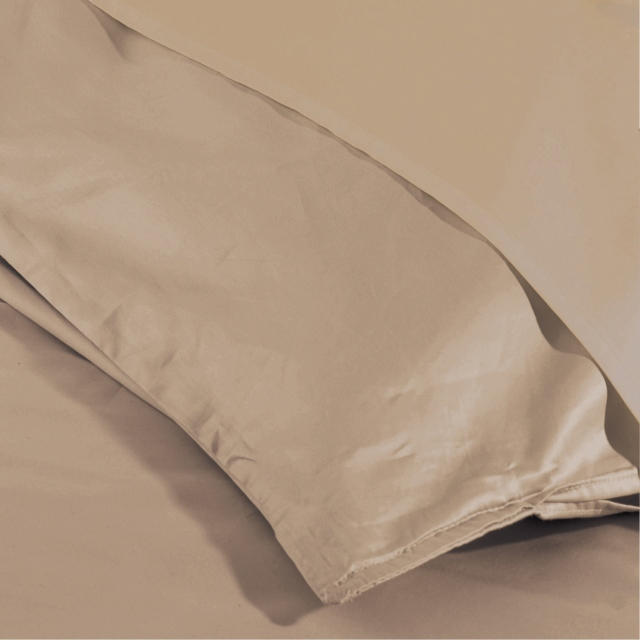 Pima 450 Duvet Cover Single Oyster
