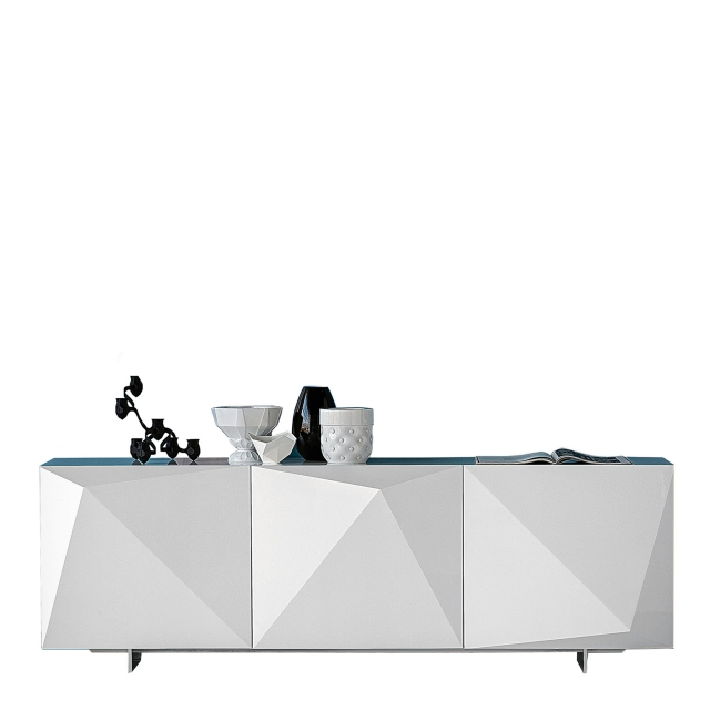 Cattalan Italia Kayak - 220x53x73h Sideboard In White