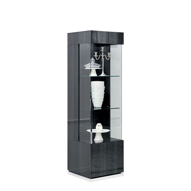 Antibes - 1 Door RH Curio Cabinet With LED Lights