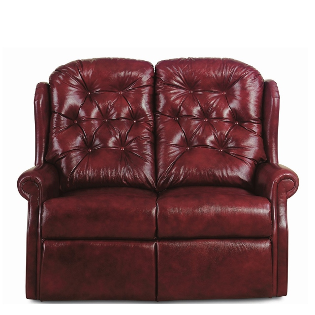 New Burford - 2 Seat Settee Dual Motor Recliner In Leather