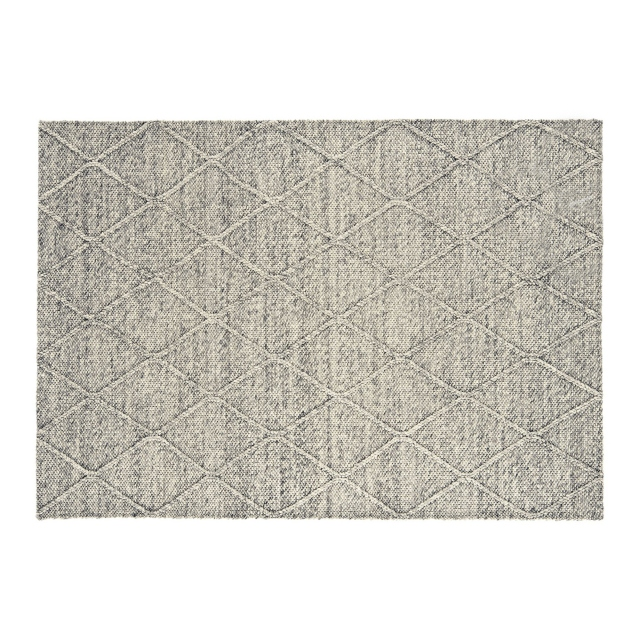 Coast Diamond Rug Grey Marl CD03 120 x 170cm
