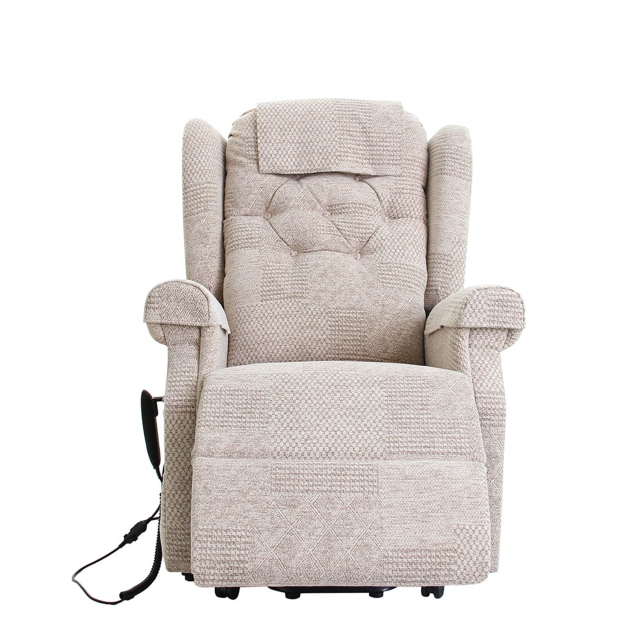Somerset - Standard Dual Motor Lift & Tilt Chair Upholstered In SADNV48 Multi Fabric