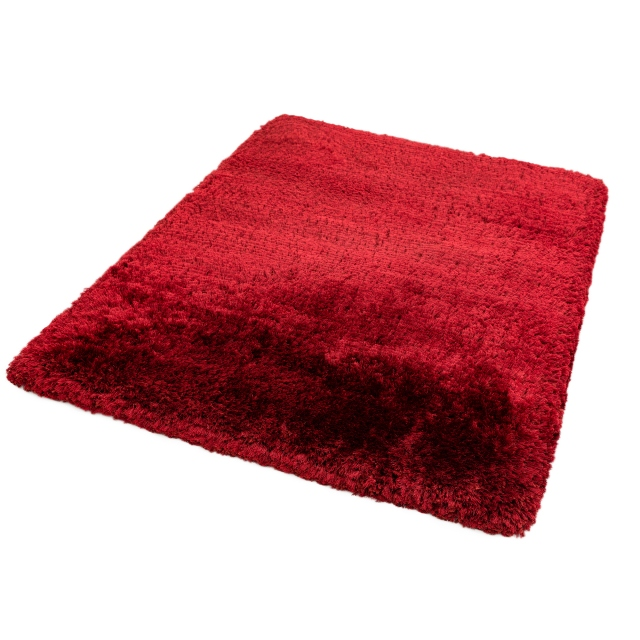 Plush Rug Red 70 X 140cm