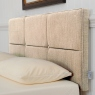 Ardennes 90cm Ardennes Buttoned Headboard Steel