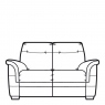 Parker Knoll Hudson Leather - 2 Seat Sofa
