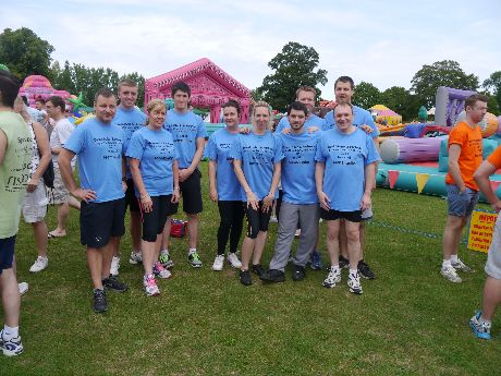 The Fishpools Team at the Teen's Unite 'It's a Knockout Challenge'
