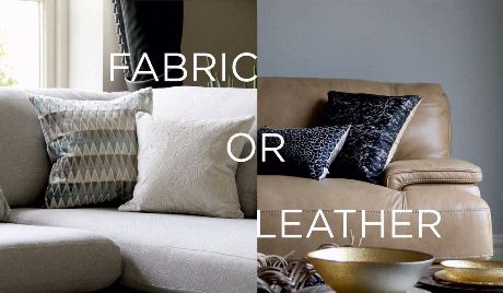 Fabric Vs. Leather Sofas: Who Is The Winner? Home Design Ideas