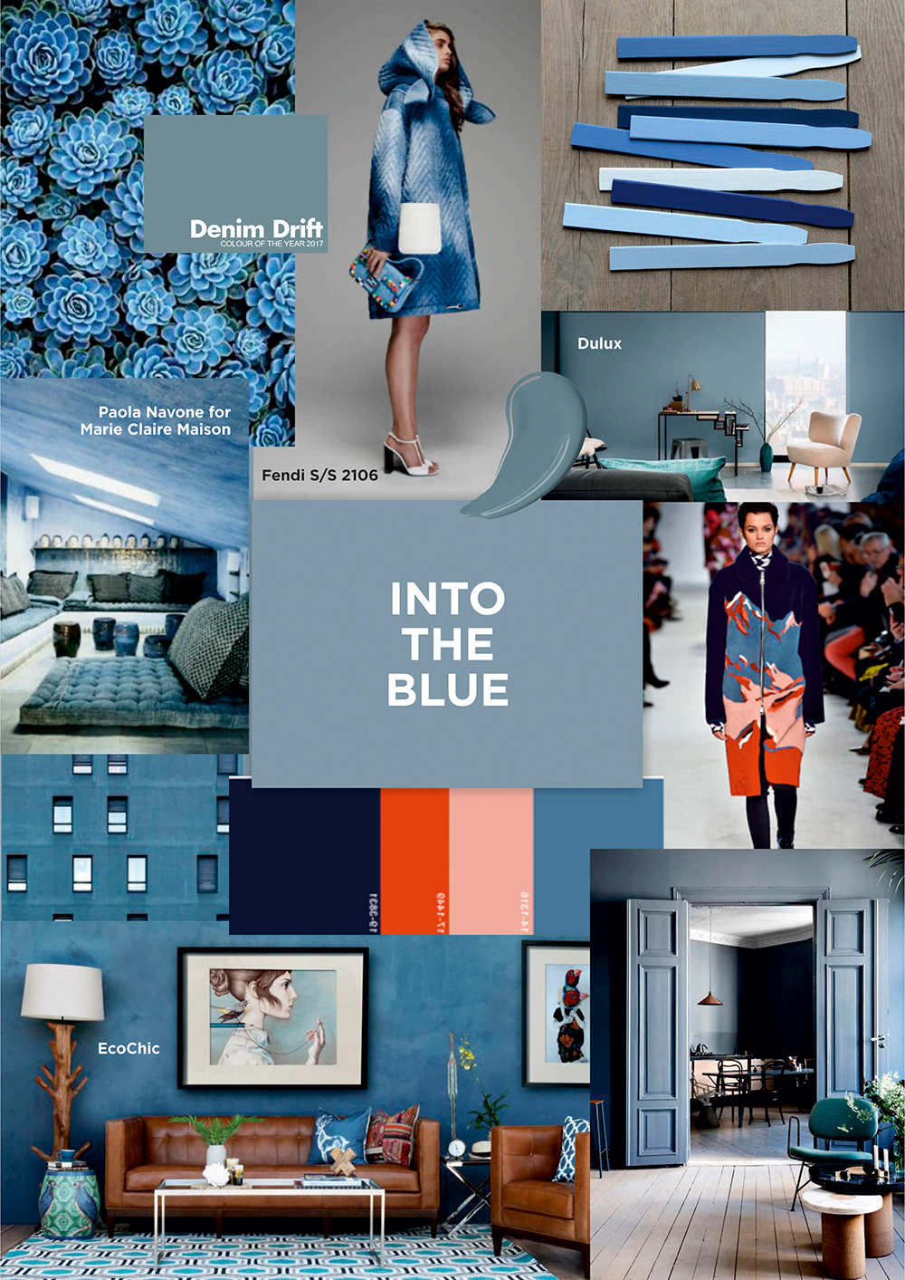 into the blue trend
