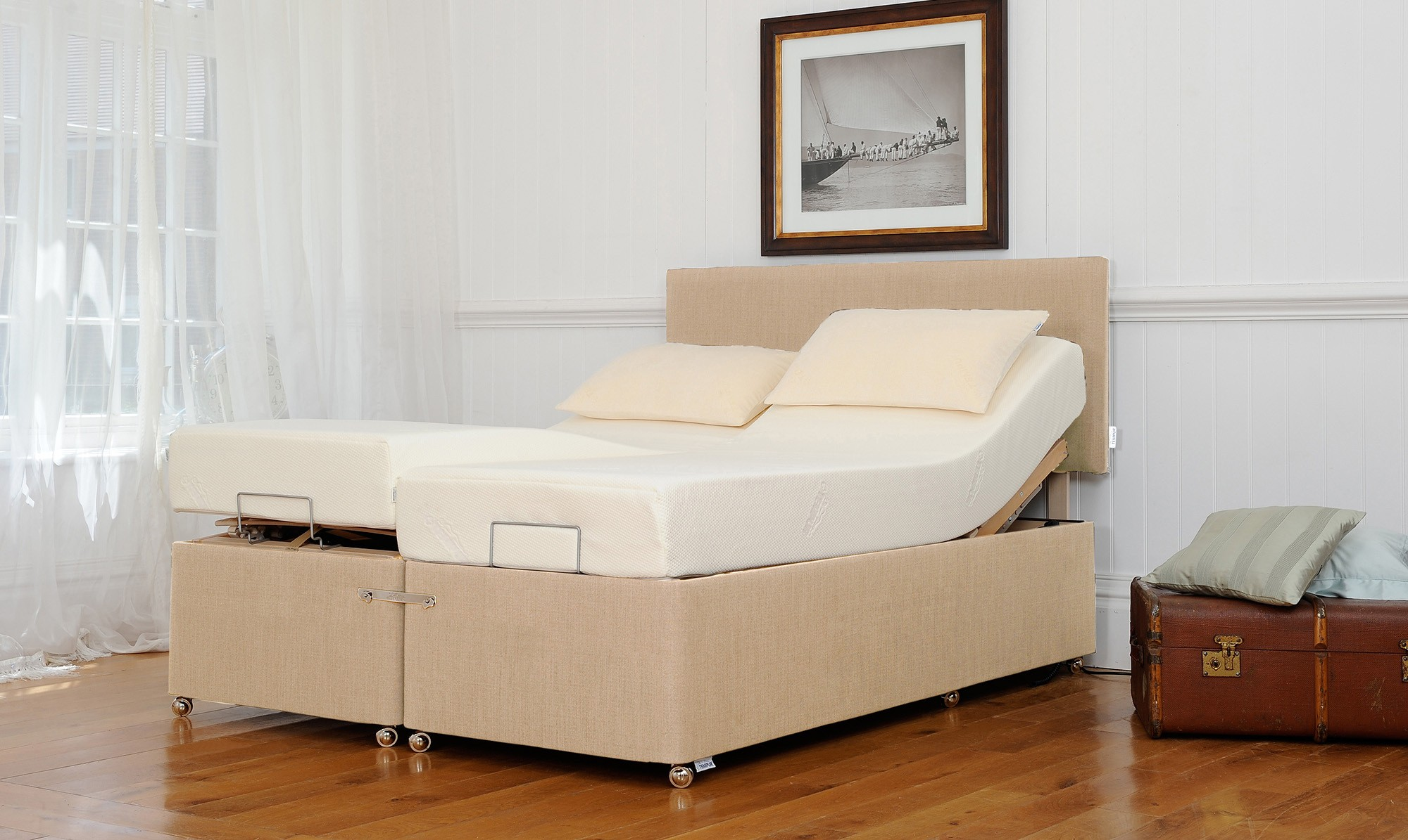 Tempur adjustable bed