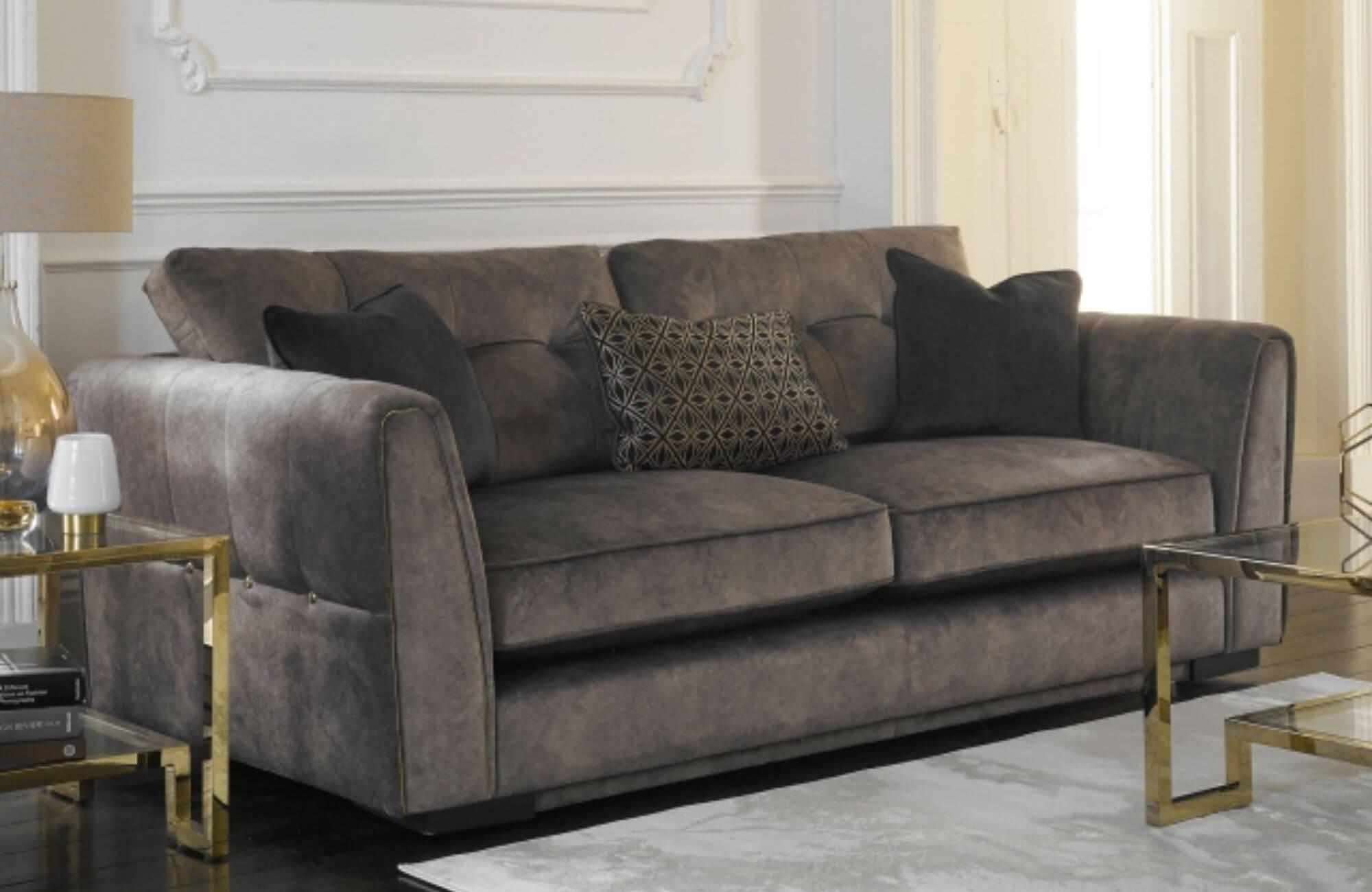 Sophie fabric sofa