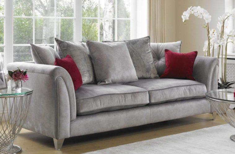 Vesper pillow back sofa