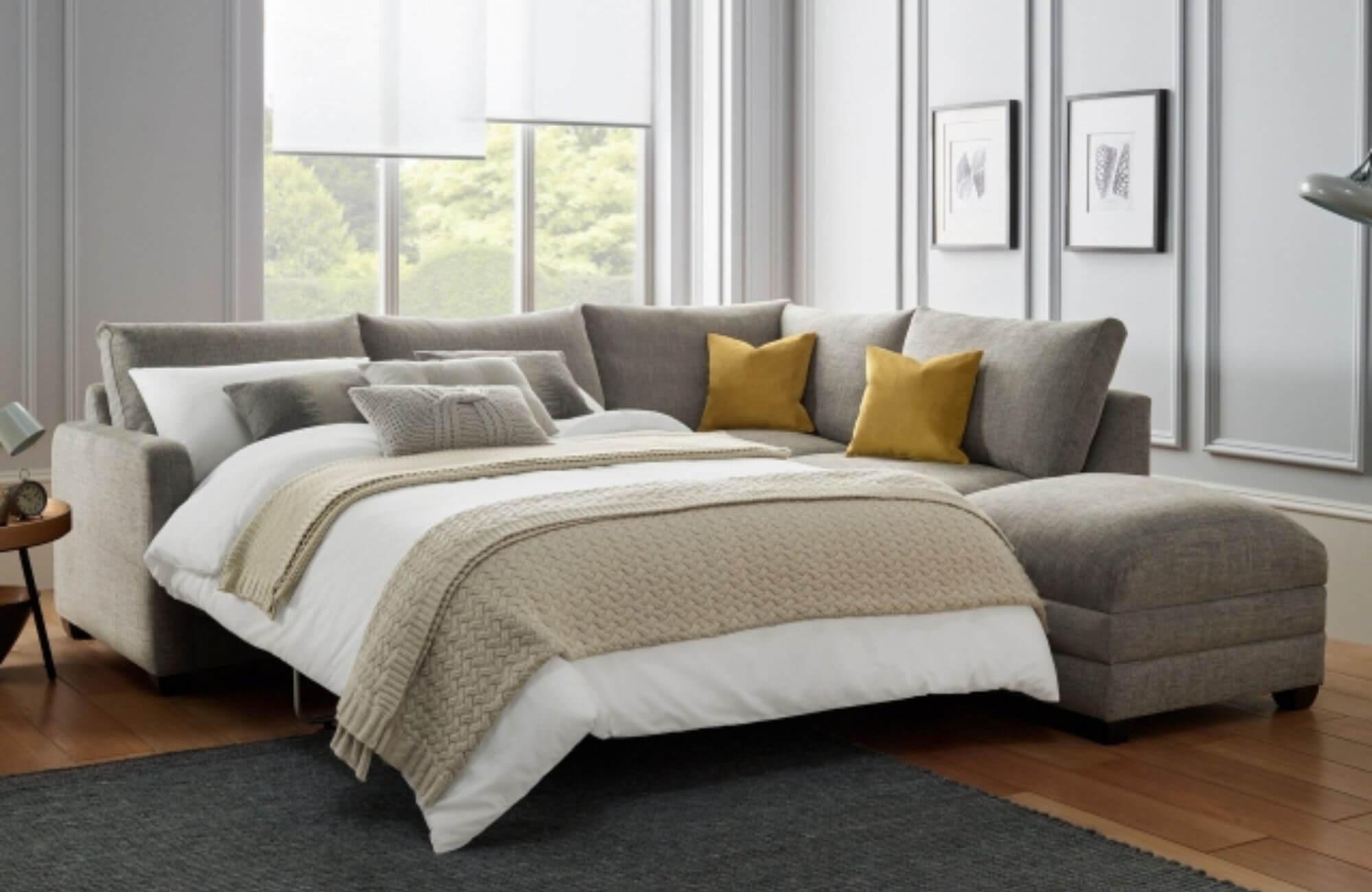 Zest corner sofa bed