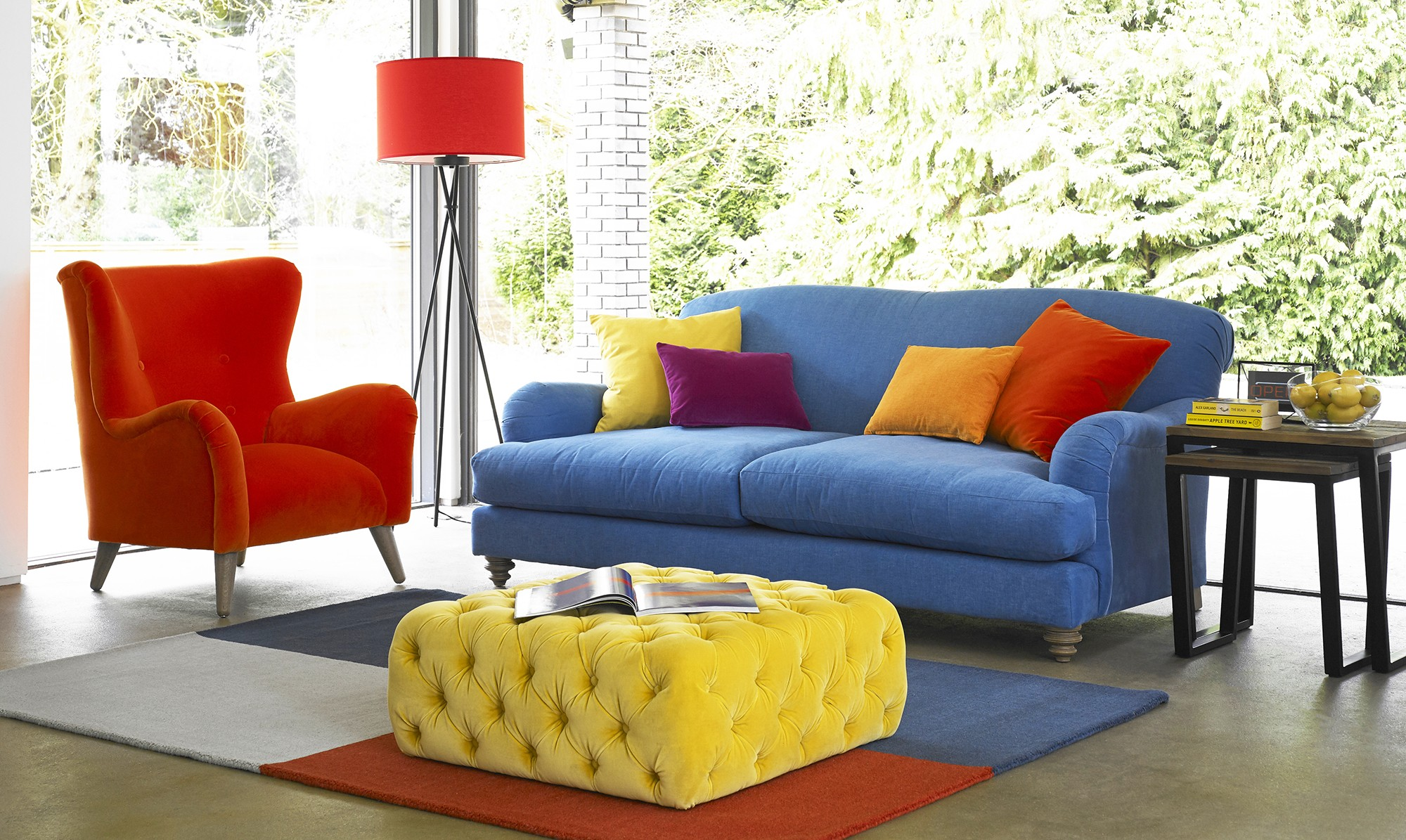 Portobello petit sofa and armchair