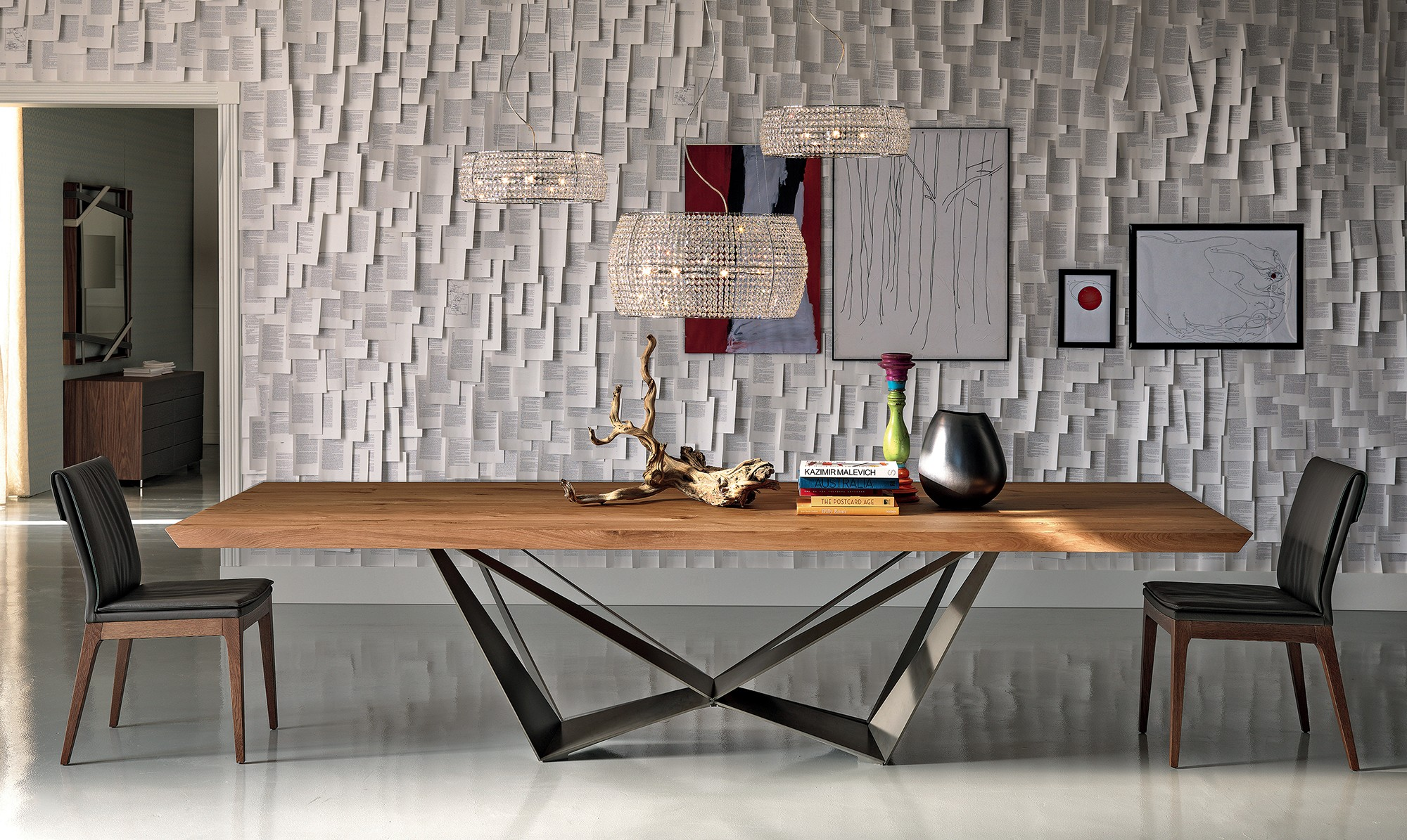 Cattelan italia skorpio dining table