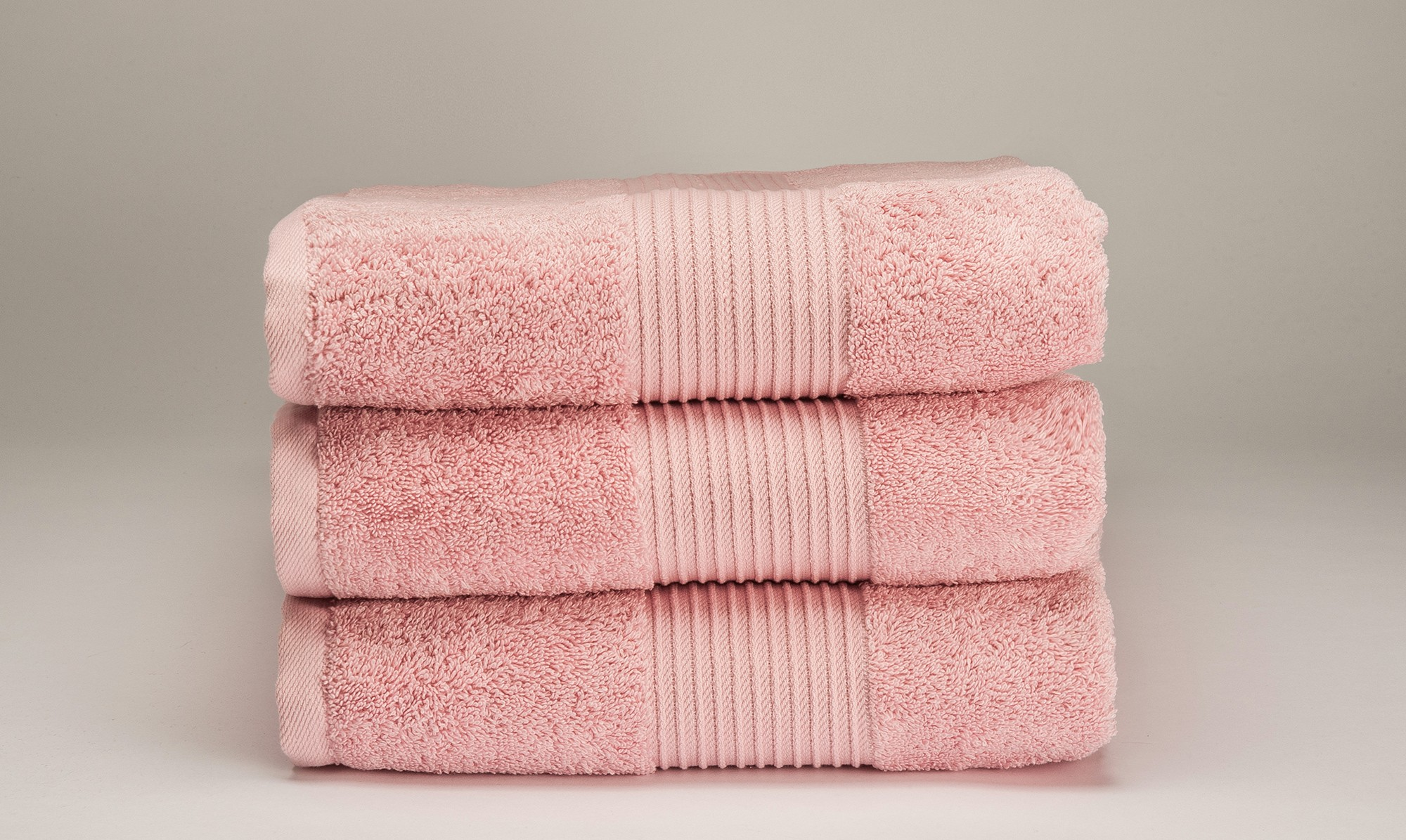 bliss pink towels