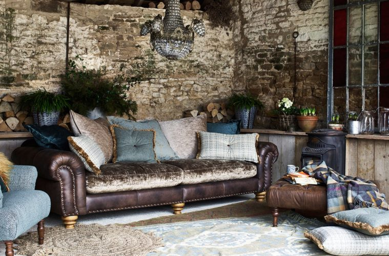 Get The Tough Luxe Look With Industrial Furniture