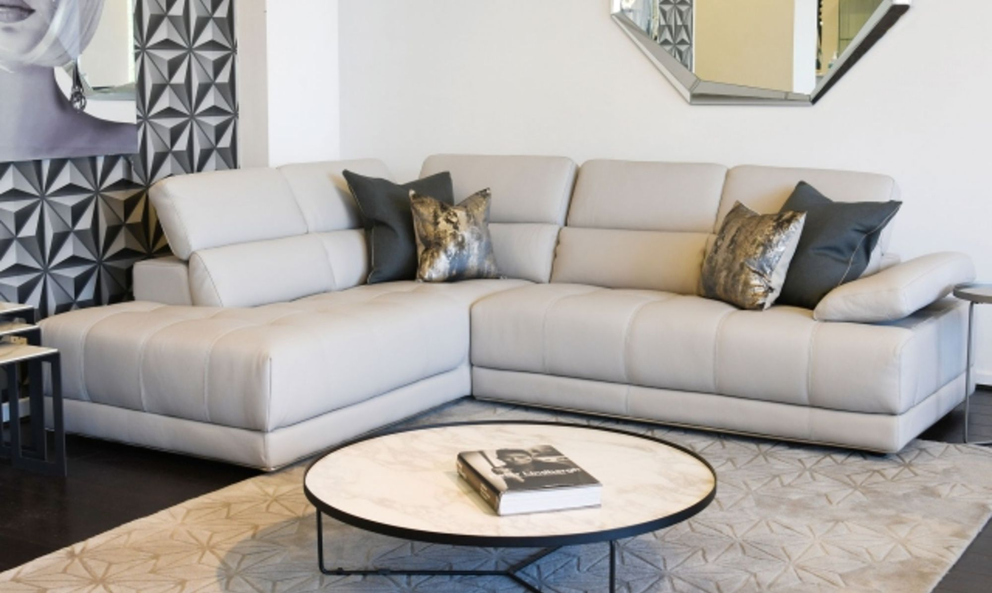 3 Ways To Style Up Your White Leather Sofa Fishpools Lifestyle