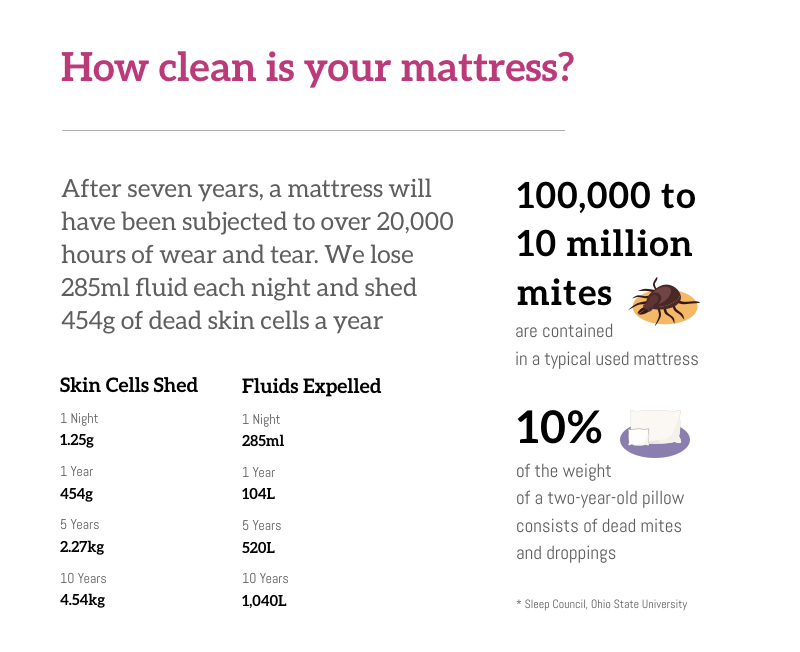 How Clean Is Your Mattress