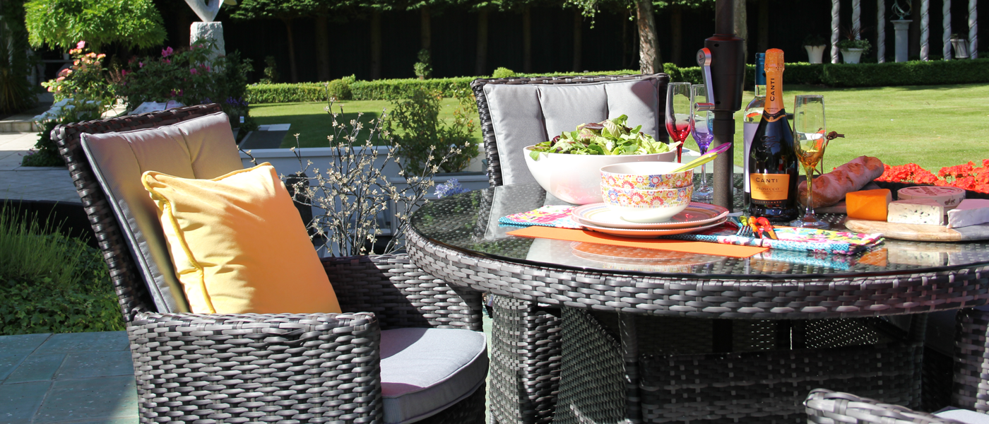 Quirky rattan garden furniture for your home