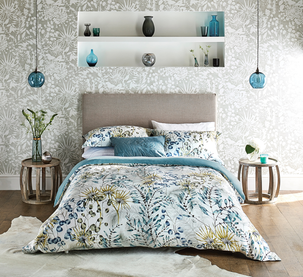 Spring colour to your bedroom