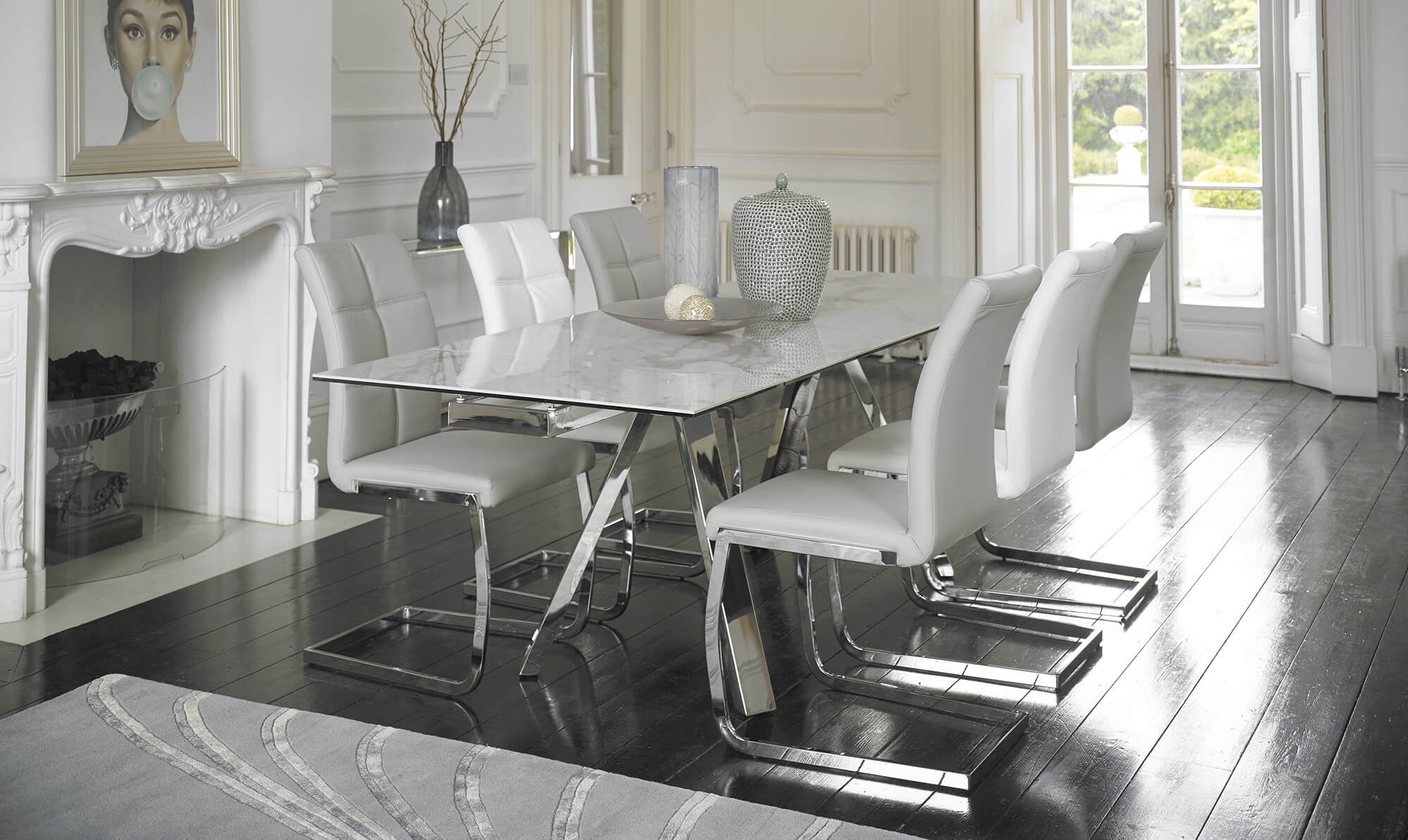 Cantania Extending Dining Table - Fishpools